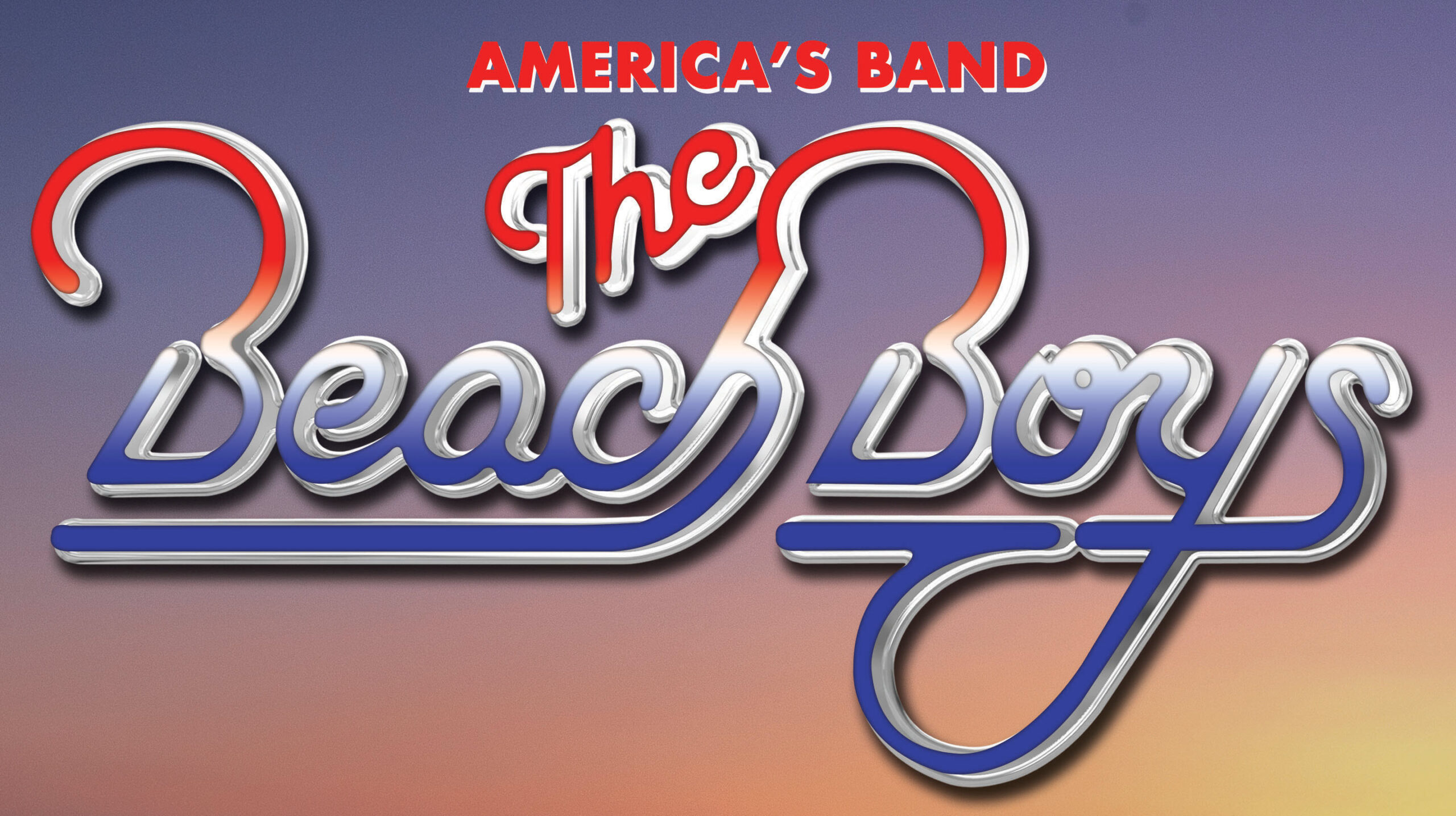 The Beach Boys logo for their live show